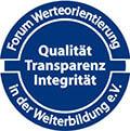 Forum Werteorientierung in der Weiterbildung e.V. Siegel